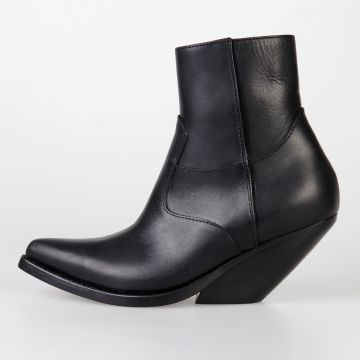 6 cm Leather Ankle Boots