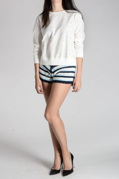 Cotton & Silk Sweatshirt