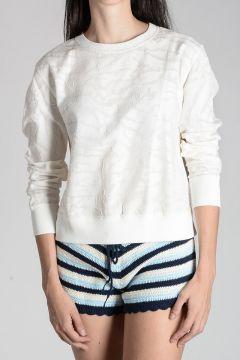 Cotton & Silk Sweatshirt
