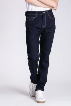 Jeans VERNER in Denim Stretch Raw Blue 17 CM