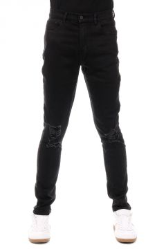 Jeans VALTAR Skinny in Denim Stretch TRUE BLACK 16 cm