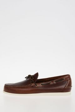 Leather DECKER PULL UP Shoes