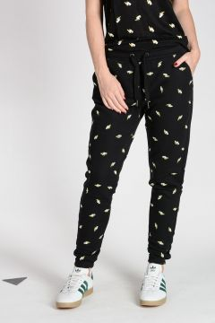 Pantalone Jogger in Felpa di Cotone