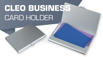 Cleo Business Card Holder