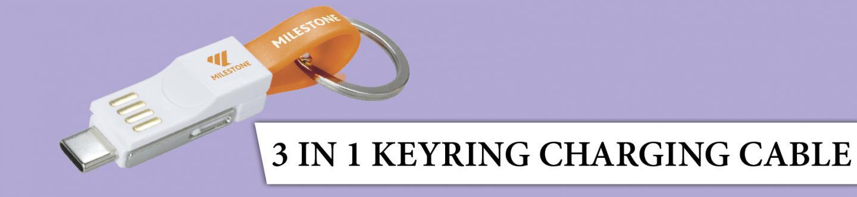 3 In 1 Keyring Charging 2020