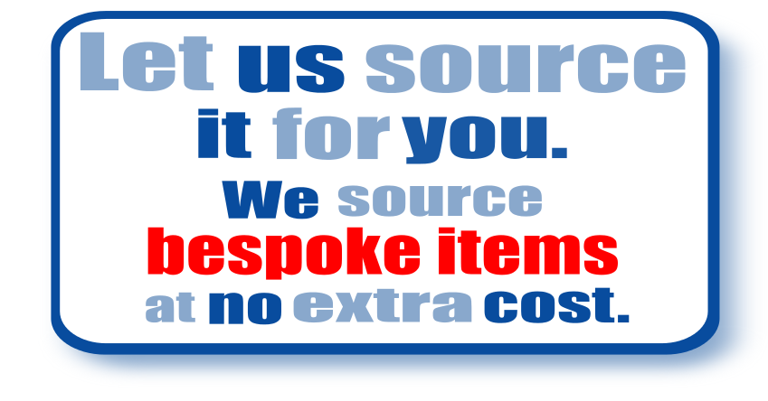 Source it bespoke