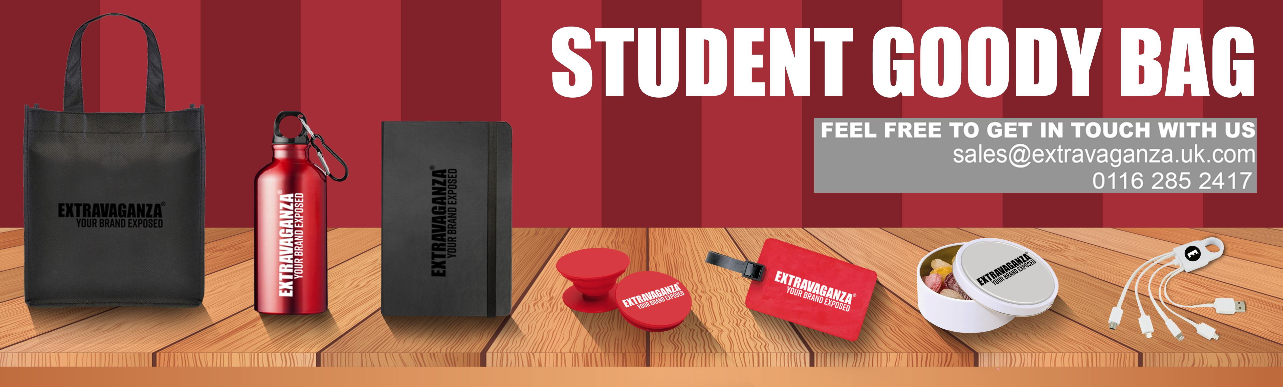 Student Goody Bag  Welcome Kits  Recruitment Packs
