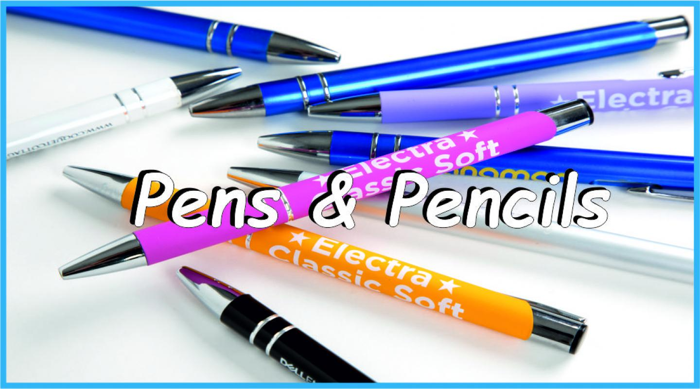 Pens and Pencils