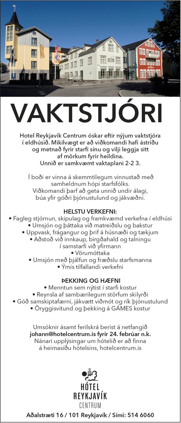 Hótel Reykjavík Centrum