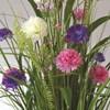 Grass Floral Bundle Carnation 70cm