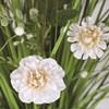 Grass Floral Bundle Peach Cameillia 70cm