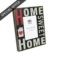 Home Sweet Home Photo Frame 6x4 inches