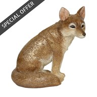 Brown Fox 14cm