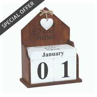 Home Perpetual Calendar 19cm