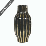 Striped Vase 28cm
