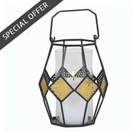 Diamond Decor Lantern 20cm