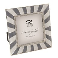 Sunburst Square Photo Frame 4x4