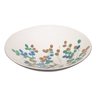 White Floral Bowl 30cm