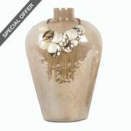 Decorative Vase with Necklace 30cm