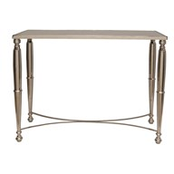 Nickel Console Table 100x80cm