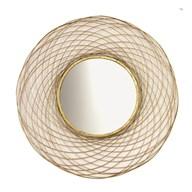 Gold Wire Mirror 93cm