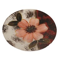 Floral Round Plate 20cm