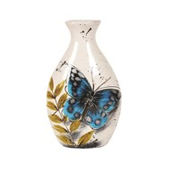 Butterfly Decor Vase 26cm