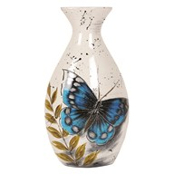 Butterfly Decor Vase 34cm