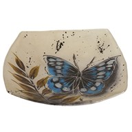 Butterfly Square Plate 26cm
