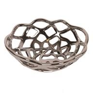 Silver Decorative Bowl 26cm