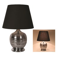 Round Table Lamp Grey 57cm
