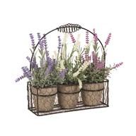 Spring Floral Basket 26cm