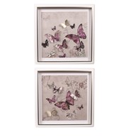 Butterflies Wall Art 45cm 2 Assorted