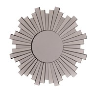 Facet Wheel Mirror 85x85cm