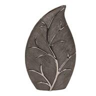 Black Leaf D'cor Vase35cm