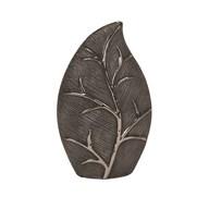 Black Leaf D'cor Vase26cm