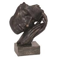 Sleeping Man Sculpture 23cm