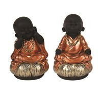 Buddha Lotus Leaf 18cm 2 Assorted