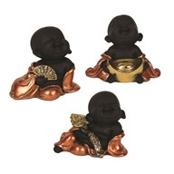 Mini Buddha 8cm 3 Assorted
