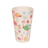 Flamingo Bamboo Cup 13cm