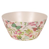 Butterfly Bamboo Bowl 25cm