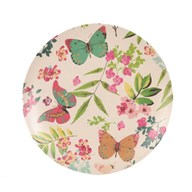 Butterfly Bamboo Plate 25cm