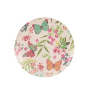 Butterfly Bamboo Plate 20cm