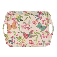 Butterfly Bamboo Tray 46cm