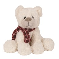 Teddy Bear with Scarf 23cm