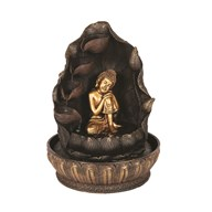 Gold Buddha Water Feature 30cm