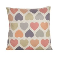 Heart Print Cushion 45cm