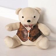 Teddy Bear Doorstop 27cm