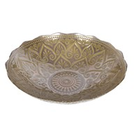 Gold Ornate Plate 35cm