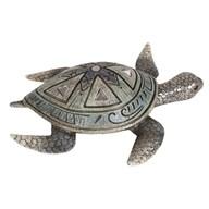 Blue Decorative Turtle 25cm